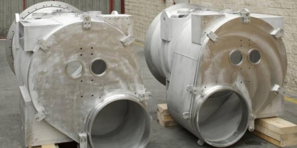 14 Shuffling modules vacuum vessels and 2 prototypes
