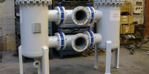 Filter for combined-cycle power plant