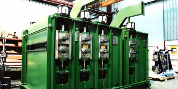 Double planing machine